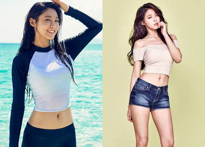 8 Korean Goddesses With Sexy Faces and Sexy Belly Buttons