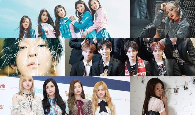 kpop comeback, kpop 2017, kpop 2017 comeback, kpop june comeback,
