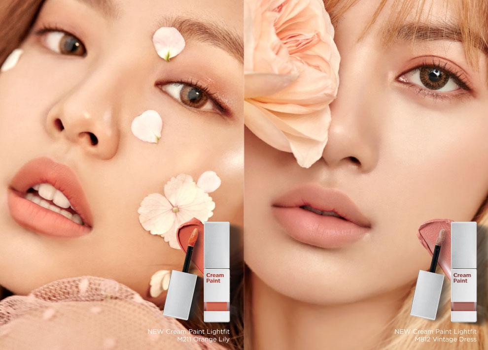 Korean Beauty Box: moonshot x BLACKPINK's 2017 Cream Paint Lightfit Lipstick