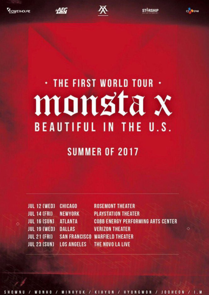 Monsta X Announces The First World Tour: See the North American Dates
