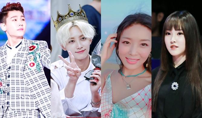 JungHan, JungHan of SEVENTEEN, JungHang Birthday, YuJu, YuJun of GFriend, YuJu Birthday, IlHoon, IlHoon of BTOB, IlHoon Birthday, Yubin, YuBin of Wonder Girls, YuBin Birthday, Idols with Same Birthday