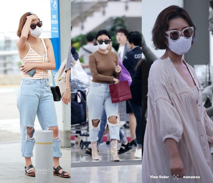 Airport Fashion 101: HwaSa of Mamamoo