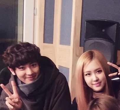 K-Pop Couple Fantasy: EXO ChanYeol & BLACKPINK Rose