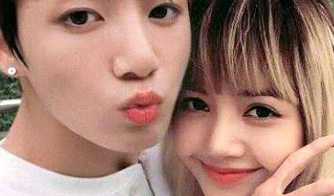 K Pop Couple Fantasy Bts Jungkook Blackpink Lisa Kpopmap