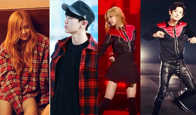 Rose, ChanYeol, CHANYEOL ROSE, PCY PCY COUPLE, PCY X PCY, BLACKPINK ROSE, EXO CHANYEOL