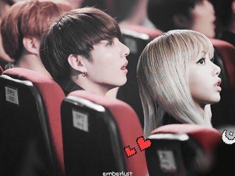 K-Pop Couple Fantasy: BTS JungKook & BLACKPINK Lisa