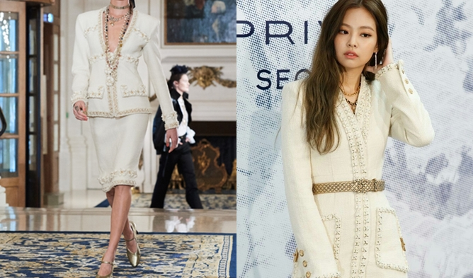 Jennie Wears Luxury Brand: LANVIN, CHANEL, GIVENCHY, Etc