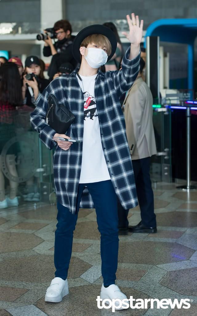 Hottest K-Pop Stars Rocking Flannel Shirts