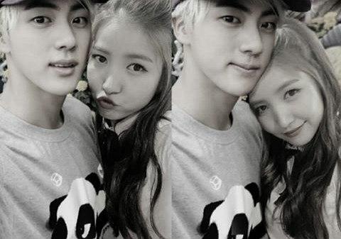K-Pop Couple Fantasy: BTS' Jin & GFRIEND's SoWon