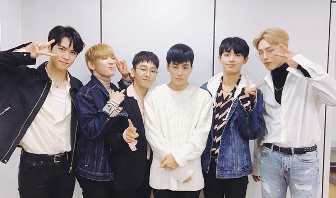 Jin Longguo, Kim DongHan, JBJ, Kwon HyunBin, Roh TaeHyun, Kim SangGyun,