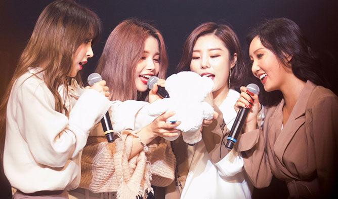 Girl Group Debut, k-pop girl group profile, k-pop girl group debut age, k-pop girl group debut