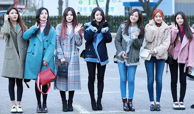 KPop Idol Winter Fashion, KPop Idol Fashion, BLACKPINK Fashion, TWICE Fashion