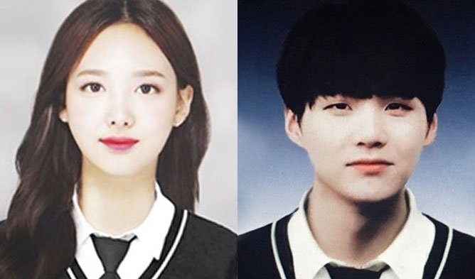 KPOP IDOL Apgujeong High School, Apgujeong High School GRADUATION, Apgujeong High School YEARBOOK PHOTO IDOLS, NAYEON Apgujeong High School, SUGA Apgujeong High School, RM Apgujeong High School, JEONGYEON Apgujeong High School, JEON HYOSUNG Apgujeong High School, KWON HYUNBINApgujeong High School