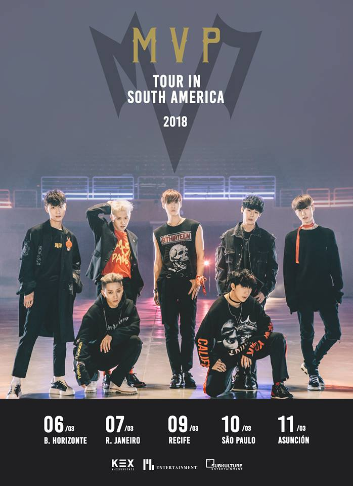 Dates for MVP Tour in South America 2018
