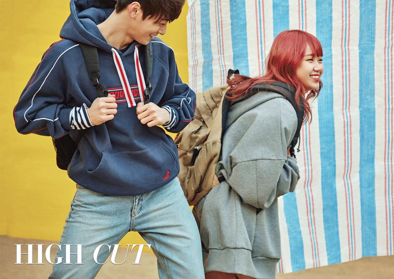 Photo )) Weki Meki Choi YooJung & ASTRO Cha EunWoo For High Cut Magazine Vol.214