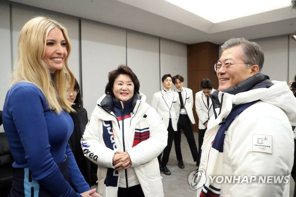 Ivanka Trump Requested To Meet EXO In Person After Olympics Closing Ceremony