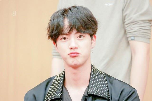BTS Jin, BTS Jin Profile, BTS Jin Pout, KPop Idol Pout