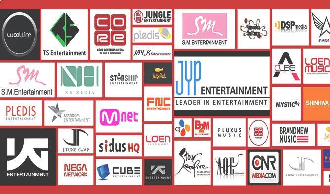 kpop companies