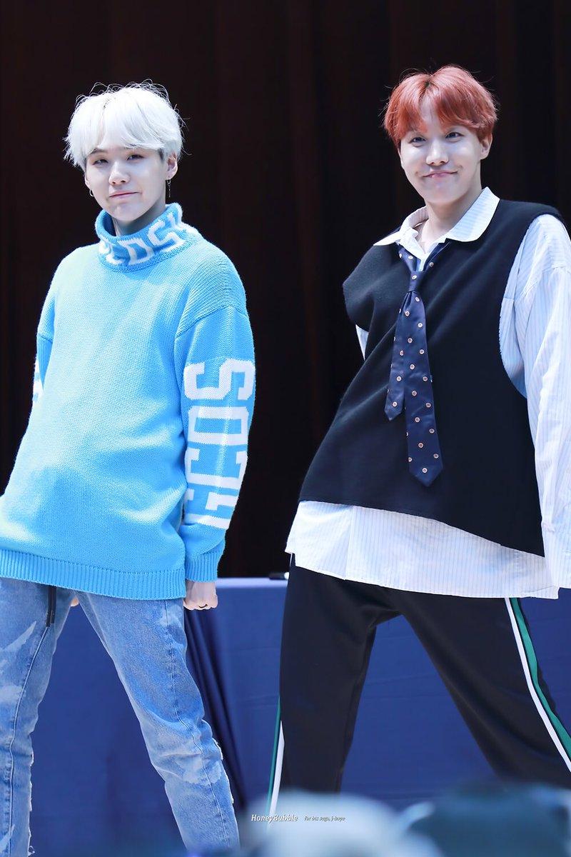 K-Couple Fantasy: BTS's Suga And J-Hope