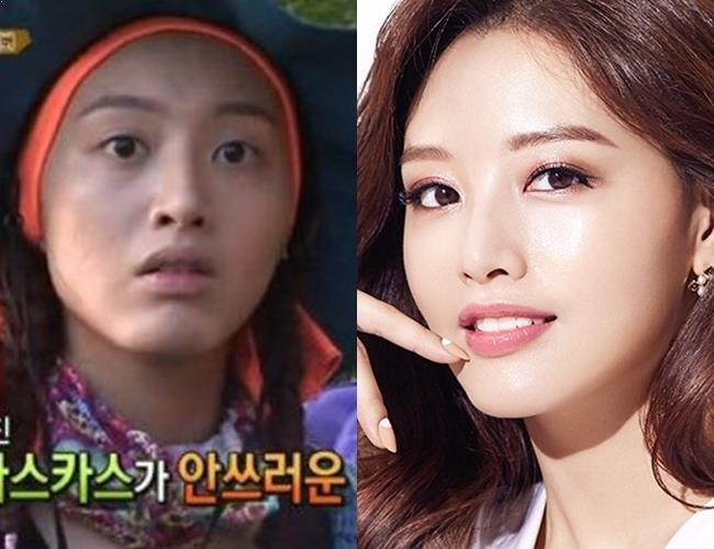 JaeKyung, JaeKyung Profile, JaeKyung No Makeup, KPop Idol No Makeup