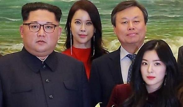 Red Velvet North Korea, Red Velvet Irene Kim JongUn
