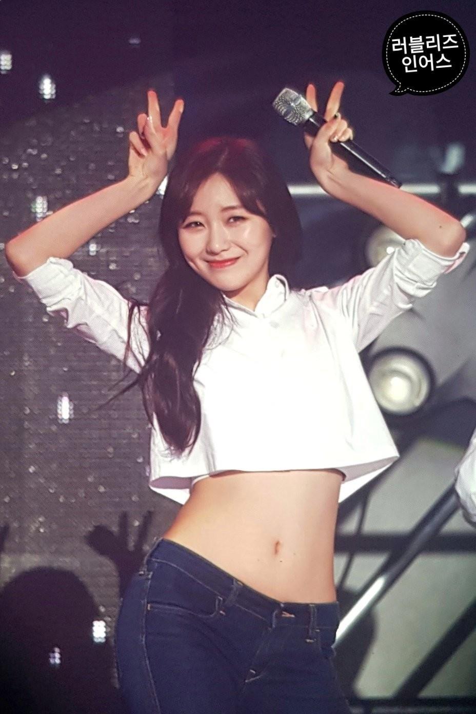 Lovelyz SuJeong Waist, KPop Idol Waist