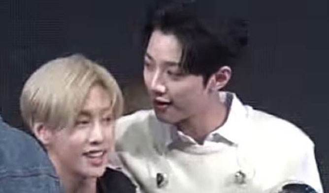 GOT7 WANNA ONE, KUANLIN MARK, GOT7 MARK, WANNA ONE KUANLIN, IDOL FRIENDSHIP