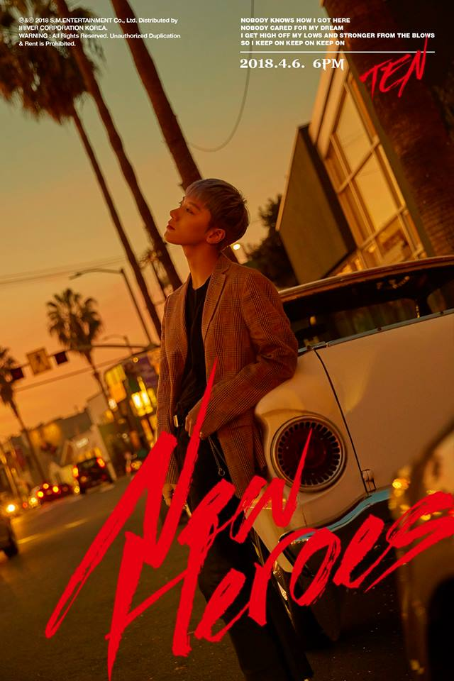 """Teaser )) NCT Ten SM STATION New Single """"New Heroes"""""""