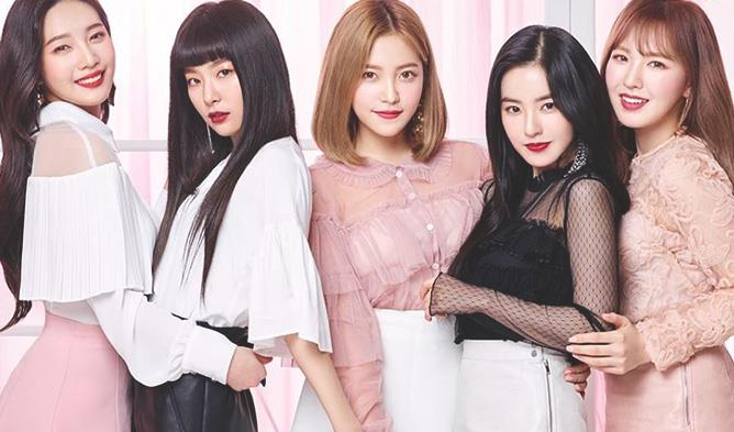 Red Velvet Etude House, Red Velvet Members Profile