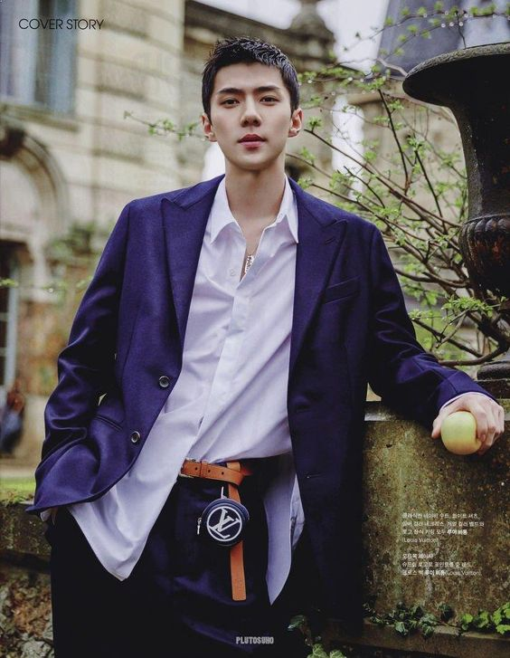 Right And Left Side Of EXO SeHun's Face Grabs Fans' Attention