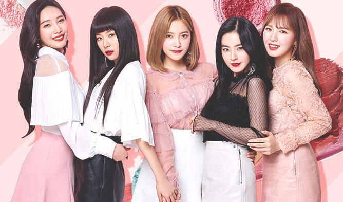 Red Velvet Members Profile, Red Velvet, Red Velvet Etude House