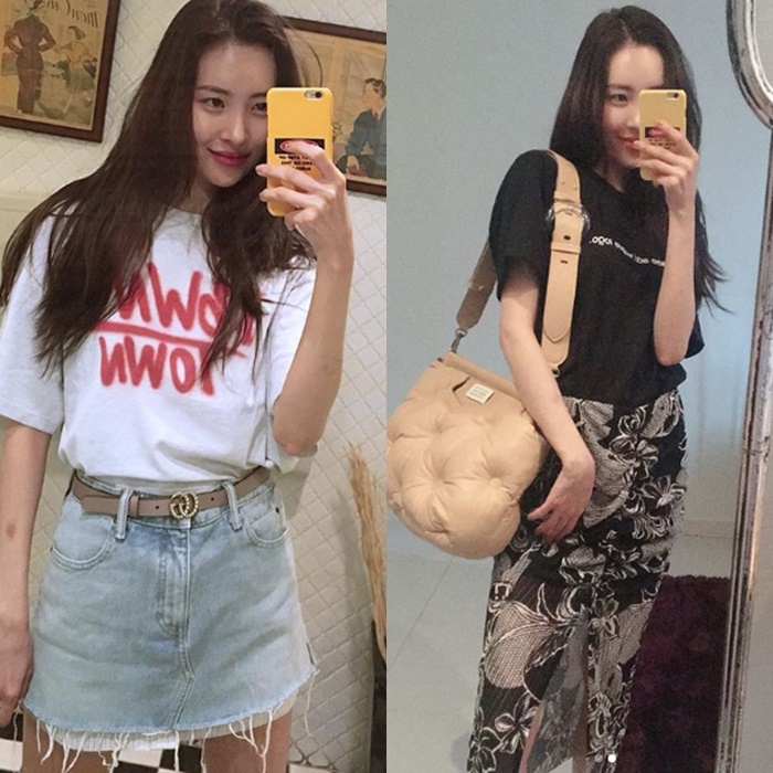 SunMi's Amazing Instagram Pictures Prove One More Time Her Goddess Looks