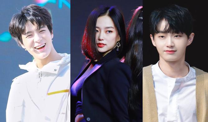 the show new mcs, jin longguo, clc yeeun, yeeun, nct jeno, jeno, nct profile, clc profile, jbj profile
