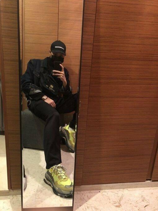 K-Pop Idols Wearing The Hideous Balenciaga Triple S