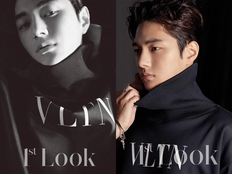 infinite profile, infinite L, myungsoo photoshoot, 1st look L, 1st look infinite, 1st look kim myungsoo