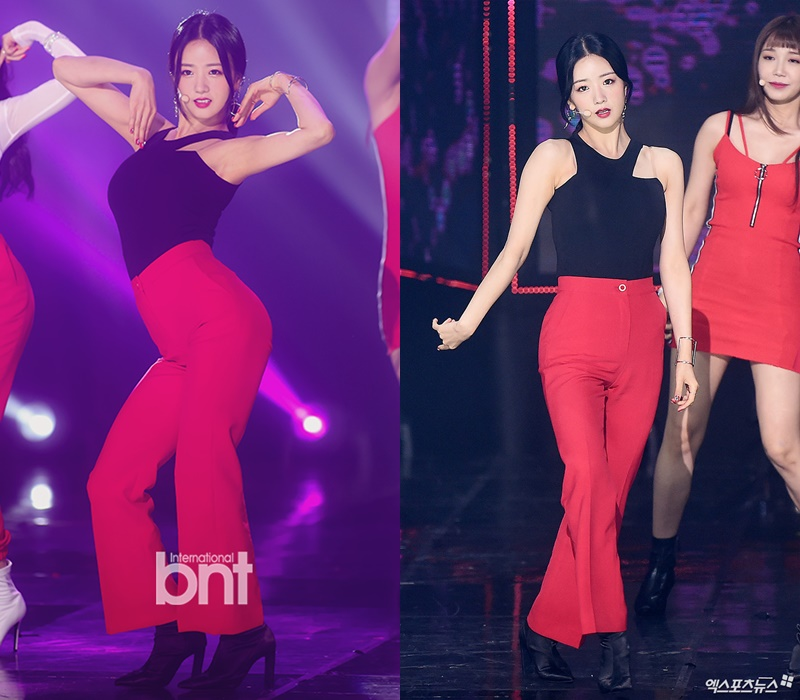 """Apink's BoMi Wows With Her S Line On """"The Show"""""""
