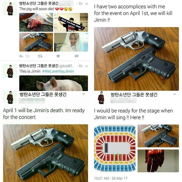 Death Threat Made Against BTS Member JiMin On Instagram