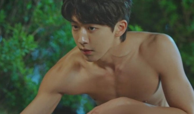 best korean shirtless scenes, shirtless scenes, drama shirtless