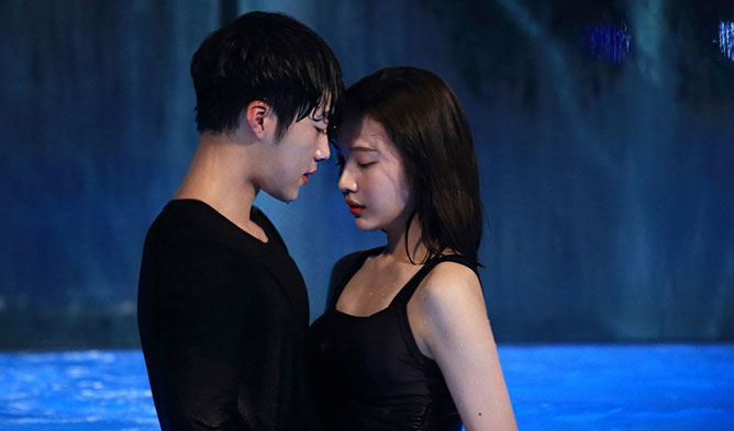 Korean dramas kiss, park seojoon kiss, best kiss drama