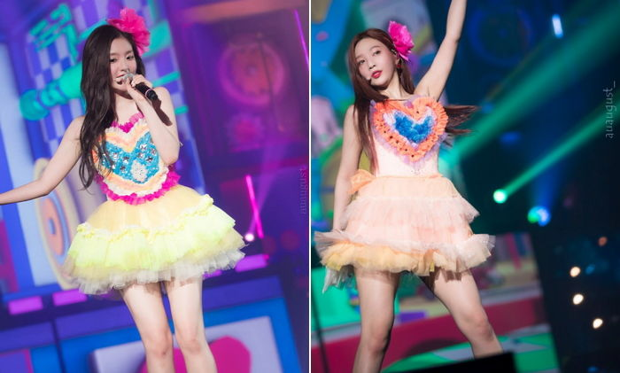 Netizens Compare Red Velvet Stage Outfit To Acrylic Sponge