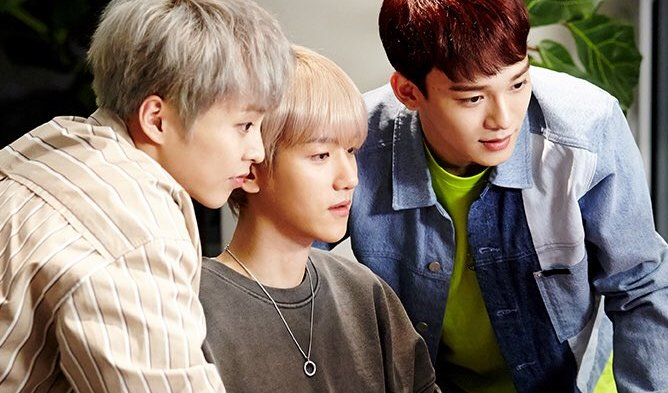 Check Out The Sneakers That EXO-CBX Designed