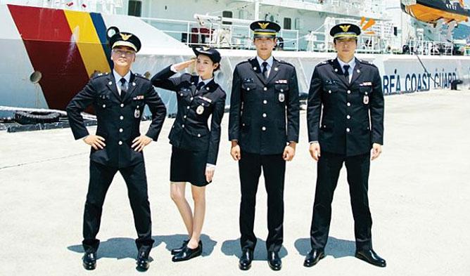 Korea Coast Guard cast, Korea Coast Guard tv show, Korea Coast Guard summary, sea police, Kwak SiYang 2018, Kwak SiYang Korea Coast Guard, Kwak SiYang sea police, Girls Day YuRa Korea Coast Guard, Girls Day sea police