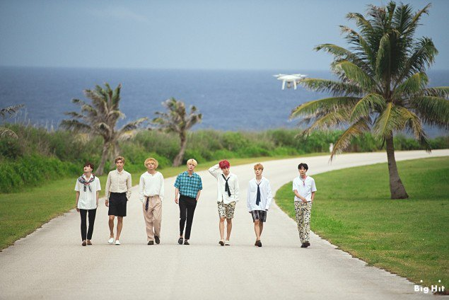 How BTS Vacationed In Saipan