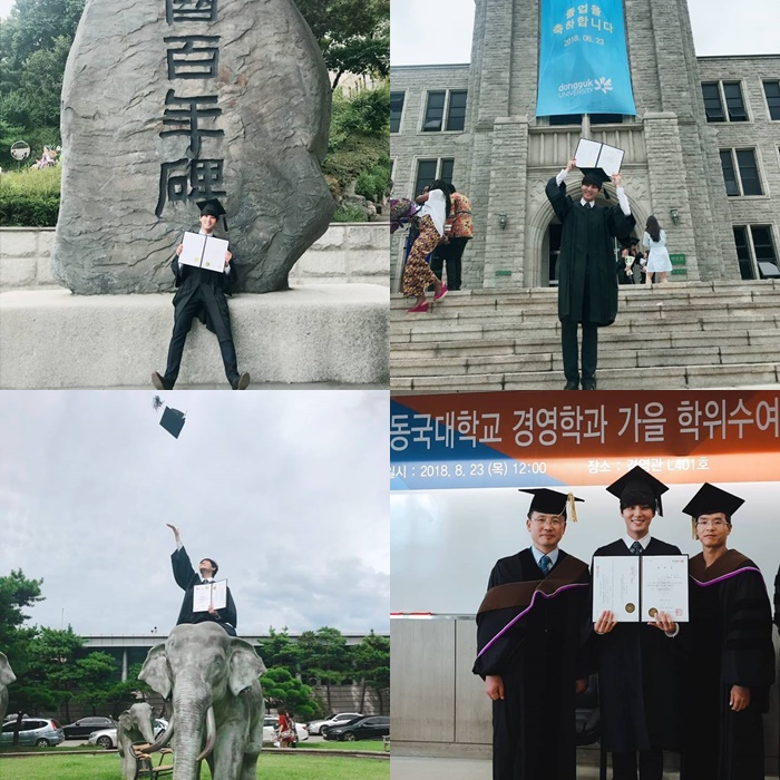 DAY6's Young K Graduates With A Bachelor Degree In Business Administration