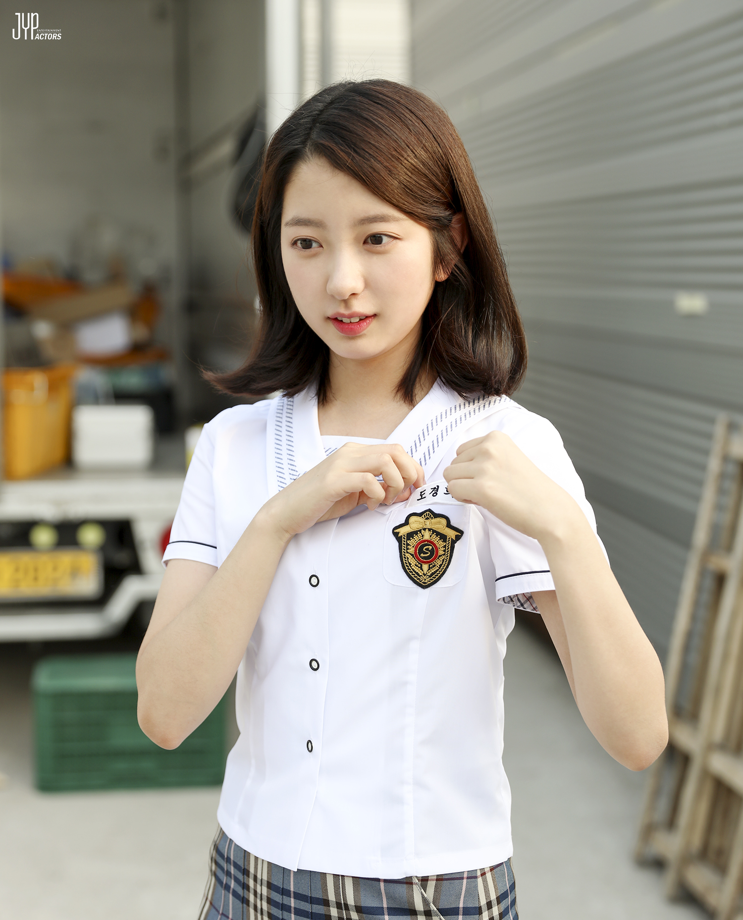 "JYP Actress Kim JiMin As The Little Sister Of Cha EunWoo In ""My ID Is Gangnam Beauty"""