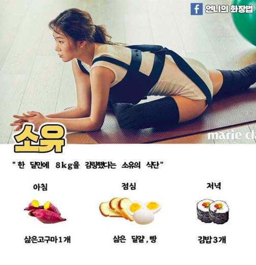 kpop idol diet