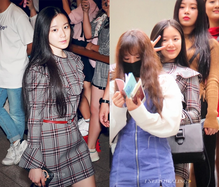 (G)I-DLE's ShuHua Is Beautiful Without Makeup At The Airport