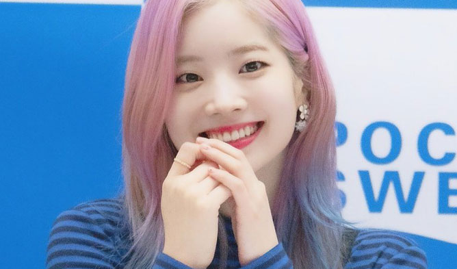 Dahyun hair, twice hair, Dahyun 2018, Dahyun color,