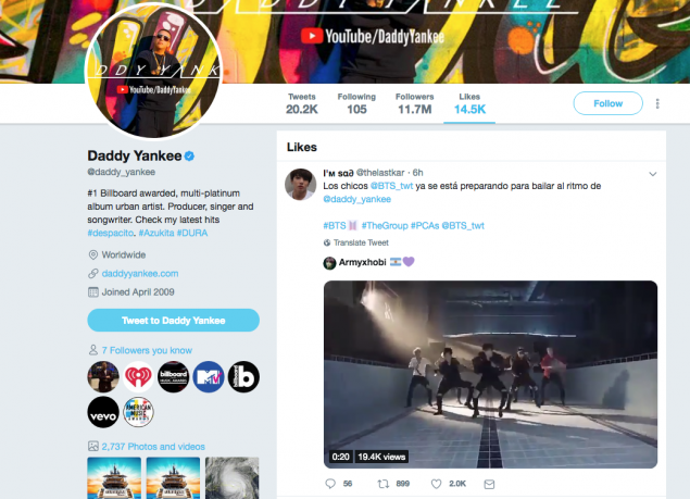 BTS To Collaborate With Daddy Yankee? Social Media Activity Hints Possibility At It