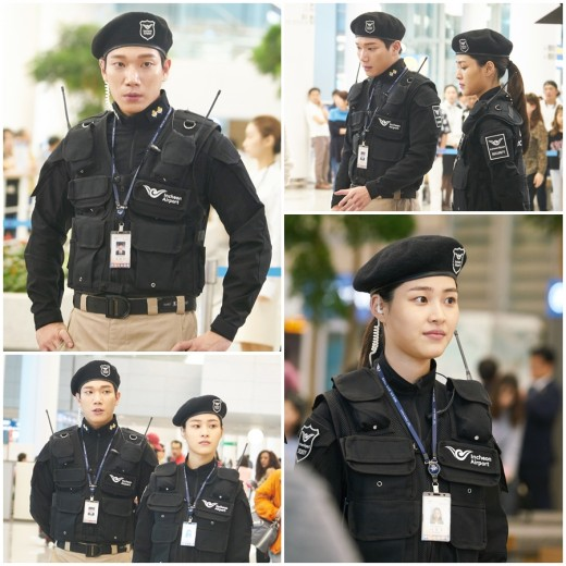 """Actor Kim KyungNam Steals Heart In """"Where Stars Land"""" In Security Uniform"""